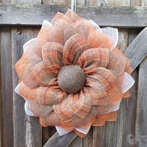 Handmade sunflower wreath, Door Wreath,Fall,Spring